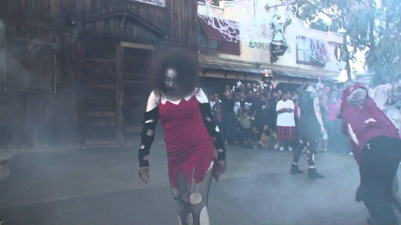 Six Flags Halloween 2010 Youtube