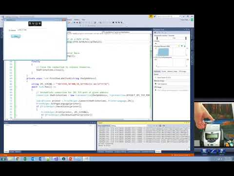 Zebra DEVTALK  - Integrating with Windows VIa Link-OS C# SDK