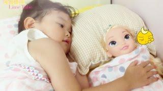 라임이의 겨울왕국 엘사 인형 자장가 불러주기 장난감 놀이 Frozen Elsa Doll Play Toys Lullaby call Cycle おもちゃ 라임튜브