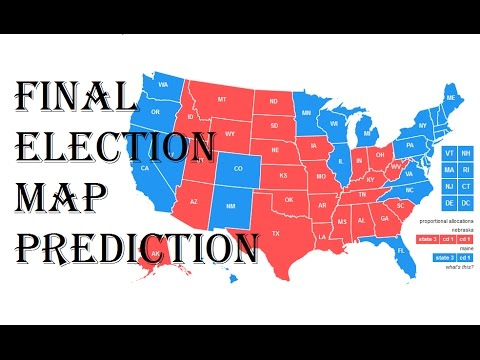 My Final Presidential Election 2016 Predictions - Electoral College ...
