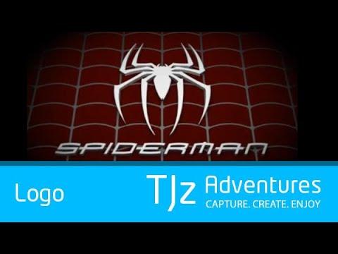 spiderman logo 3d animation youtube