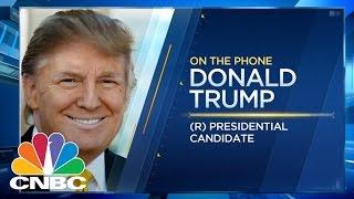 Donald Trump Talks Interest Rates, Hillary Clinton's Health, More (Full) | Squawk Box | CNBC