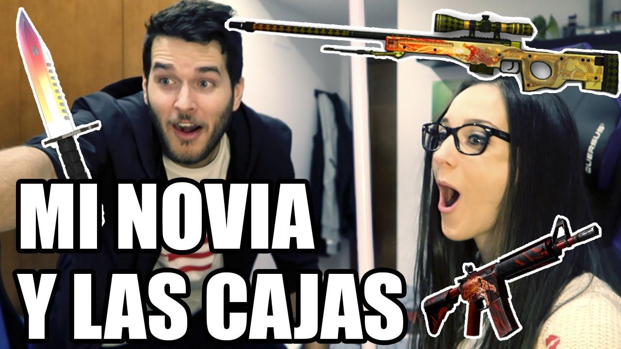MI NOVIA Y LAS CAJAS   SKINHUB - YouTube