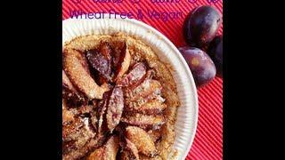 Wheat Free Vegan Plum Pie - Recipe