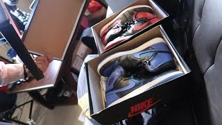 GIVING AWAY BREDS, ROYALS, AIR MAXES TO THE FAM !!! SPRING CLEANING !!!