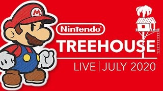 🔴 NEW Paper Mario: The Origami King Gameplay! (Nintendo Treehouse: Live | July 2020)