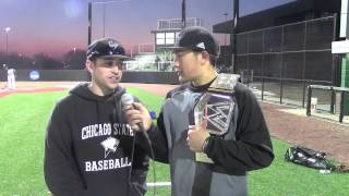Chicago State Baseball vs. Holy Cross (Ind.) (3/20/14)