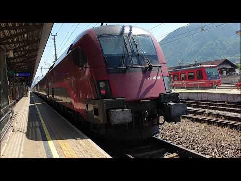 ÖBB-Railjet Von Jenbach (Tirol) Nach Wien