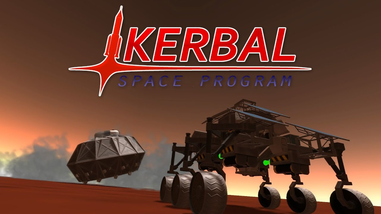 Kerbal Space Program 0.19 - Stock Curiosity rover - YouTube