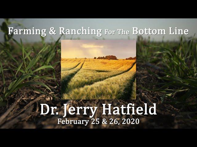 Dr  Jerry Hatfield BSC Feb 2020