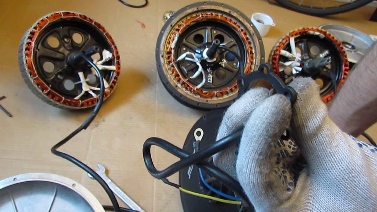 мотор колесо Дуюнова без магнитов и датчиков холла - версия 2,0 .
