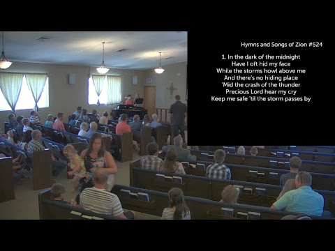 Sunday Morning Worship w/ Dan Olin - Acts 13:13-26 & Luke 1:57-80