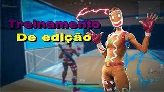 O SEGREDO É TREINAR ! ! FORTNITE WARMUP MAP