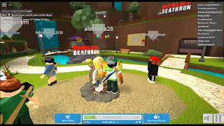 DYING EVERY TIME! (ROBLOX DEATHRUN)! MAUZA GANG (No commentary)