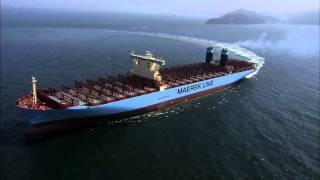 Maersk Triple E - The World's Biggest Container Ship