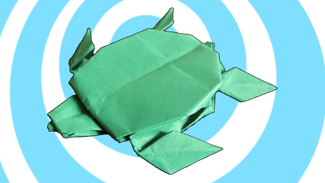 How to make Origami Turtle - YouTube | 720x1280
