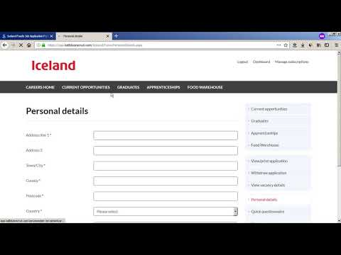 Iceland Foods Job Application Process - Online Interview Questions 2018