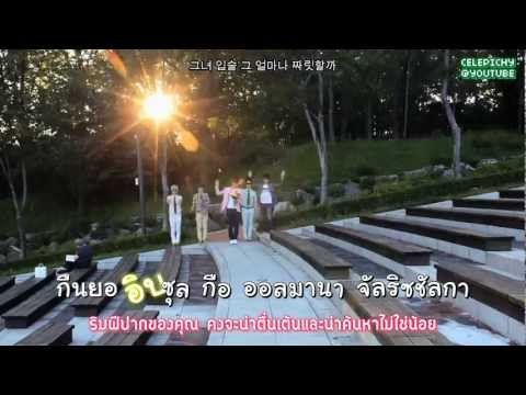 [KARAOKE Thai Sub] Kiss Kiss - 카오스 (CHAOS)