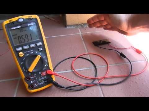 Solar Cell Short circuit values.