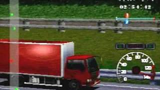 PS1 - Bakusou Dekotora Densetsu 2 - Gameplay
