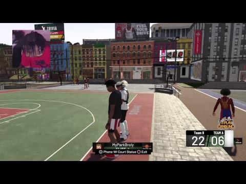 NBA 2K19 BEST STRETCH BIG - My Stretch Big Glitchy Bro Bro S/O TO TROYDAN FOR THE RAID