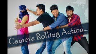 || CAMERA ROLLING ACTION || COMEDY SKIT || VIJAY KUMAR RAVULA || VKR PRODUCTIONS ||