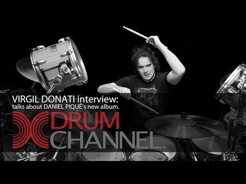 VIRGIL DONATI interview @ Drum Channel - (talks about DANIEL PIQUÊ's new album).