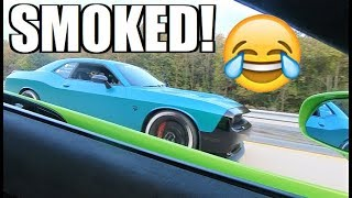 2 Guys in a 1,000HP Hellcat Were in for a Surprise...