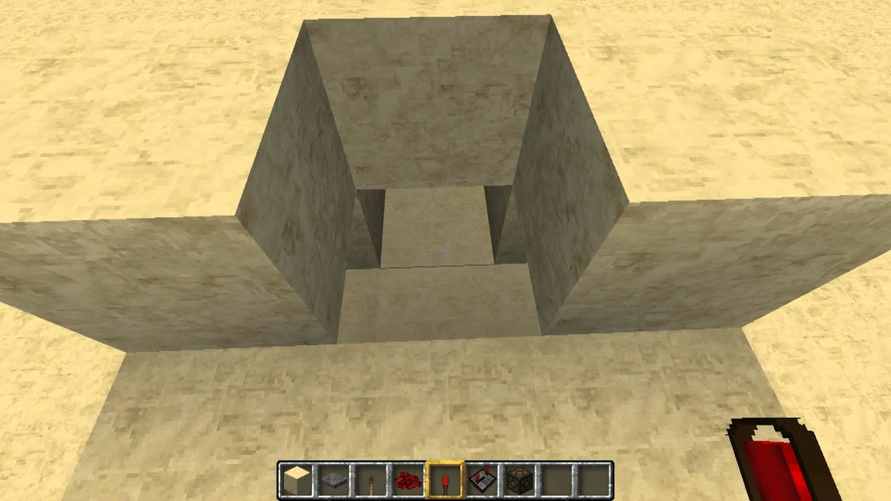 Minecraft Basic Circuits Button On The Ground Youtube Xnor Logic Gates Redstone Game Guide