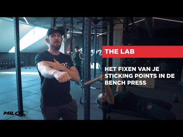 HET LAB | Het fixen van je sticking points in de Bench Press