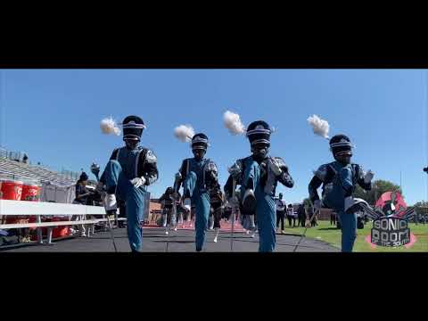 Jackson State University Marching In At Mississippi Valley State - 2019