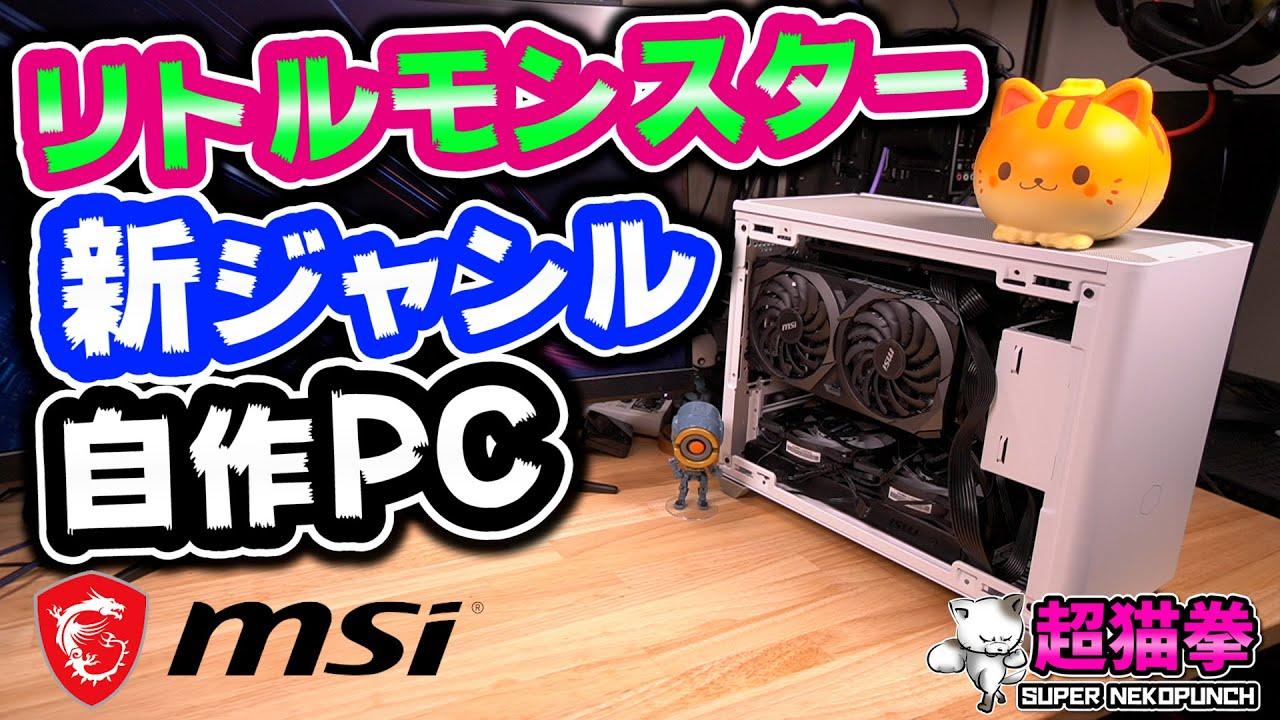 海外で流行ってる新ジャンルの自作PC!! パワフルで高画質APEXも余裕!? MSI MPG B560I GAMING EDGE WIFI [小型ゲーミングPC][Mini ITX][超猫拳周辺機器]