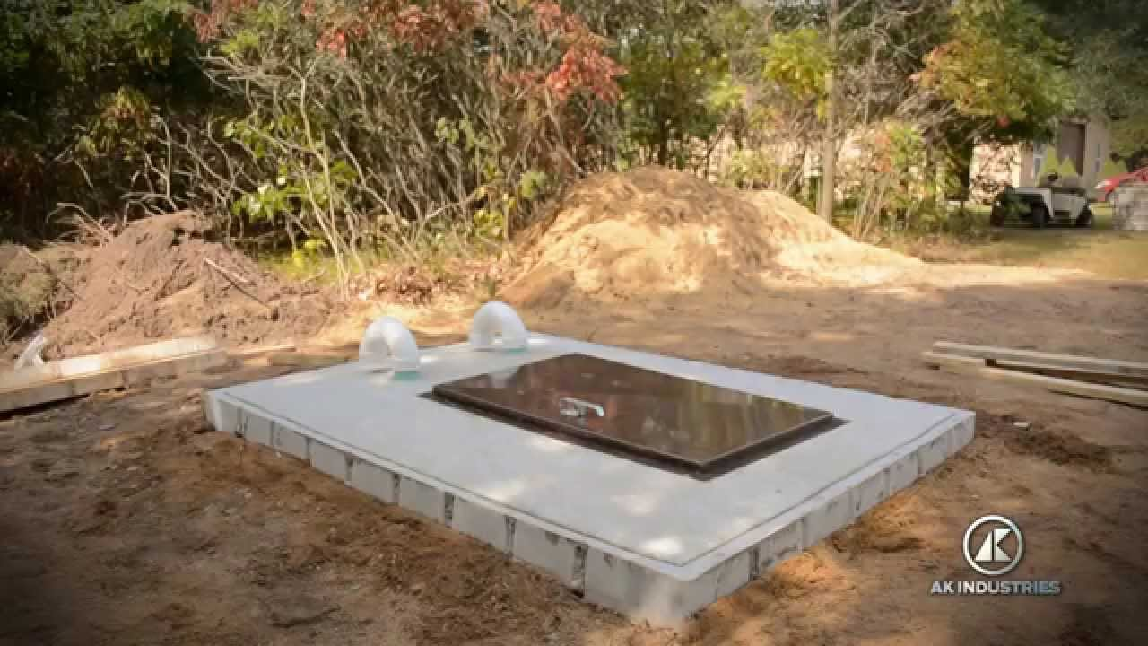 ak industries ultimate storm shelter installation instruction