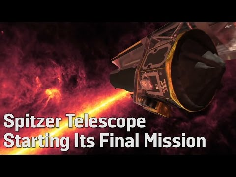 Spitzer Telescope Starting Its Final Mission