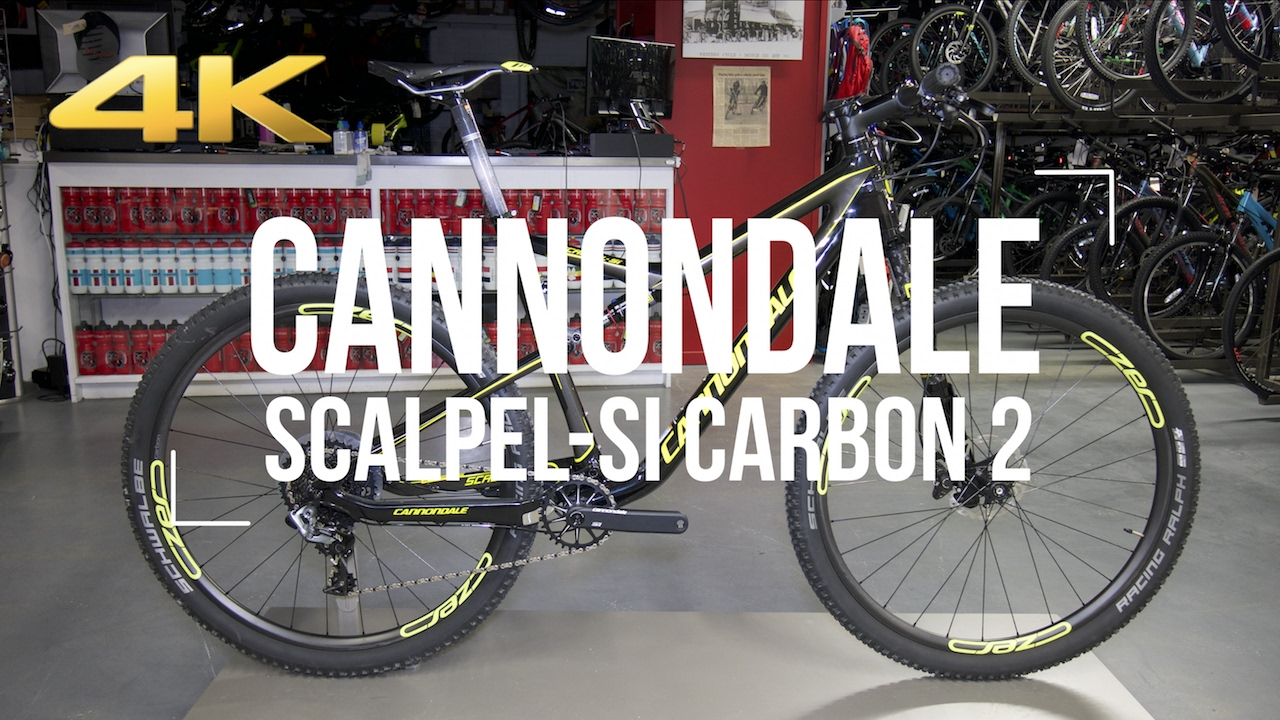 83fb5f0c740 2017 CANNONDALE Scalpel Si 2 + actual weight - YouTube