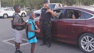 9-Year-Old Girl Who Cried About Police Shootings Gets To