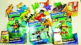 Игрушки Разные Динозавры Лягушки животные Черепашка Ниндзя Кабан Бибоп Распаковка НОВИНКИ