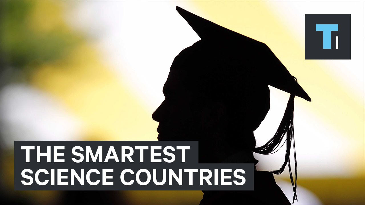 The smartest science countries