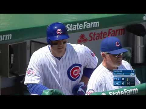 July 16, 2016-Texas Rangers vs. Chicago Cubs