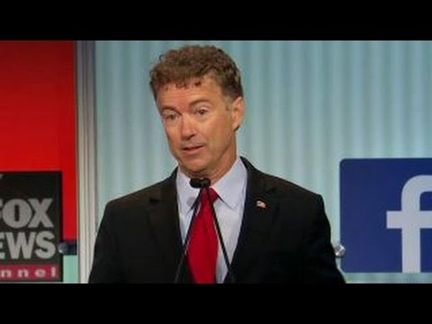 Has Rand Paul changed his view on support of Israel? | Fox News Republican Debate