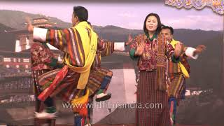 Bhutan Week in India, Folk Dance by the Royal Dancers