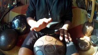 Sintonia Steel Tongued Tank Hang Drum 7 Notas