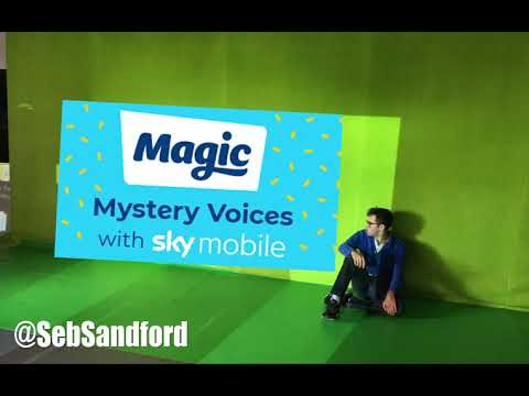 I tried to guess Magic's Mystery Voices on Magic Radio with