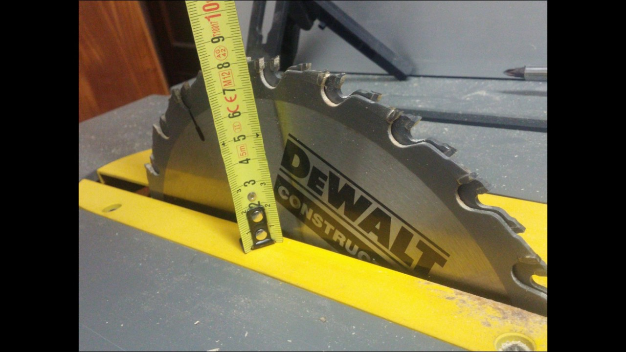 Dewalt dw 745 alternativa dado blade youtube dewalt dw 745 alternativa dado blade greentooth Gallery