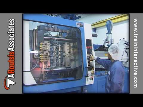 Injection Molding Basics - Machine (excerpt) Travel Video