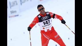 Olympics: Tonga's bare-chested flagbearer qualifies for Pyeongchang
