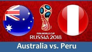 Australia vs Peru | World Cup 2018 | Match live | highlights
