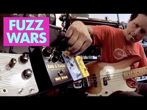 Pedals and Effects: Fuzz Wars 2018