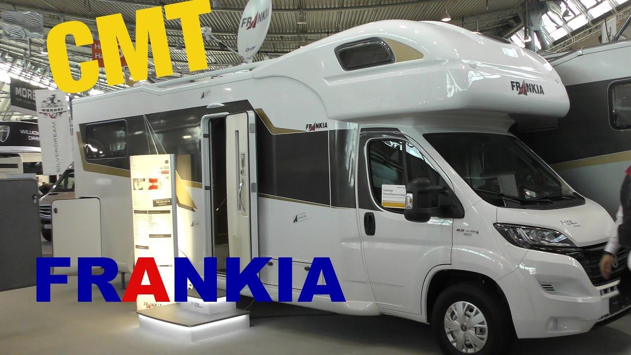 cmt messe stuttgart 2017 frankia reisemobile wohnmobile campers youtube. Black Bedroom Furniture Sets. Home Design Ideas