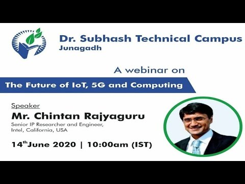 A Webinar On The Future Of IoT, 5G And Computing